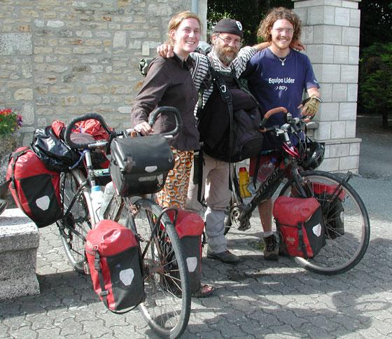 retour vélos vers soulac sur mer