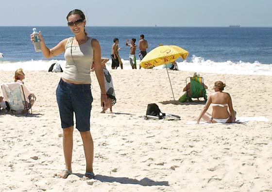Adassa Martins, plage de Copacabana